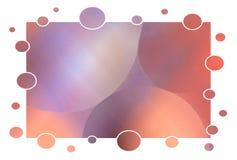 Abstrakte Luftblasen Stockfoto