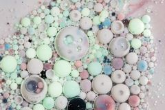 Abstrakte Luftblasen Lizenzfreie Stockbilder
