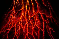 Abstrakte Magmabeschaffenheit Lizenzfreies Stockbild