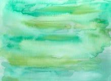 Abstrakte Malerei des Aquarells Stockbild