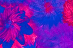 Abstrakte Malerei, kitschige Farben lizenzfreie stockfotos