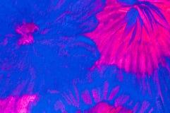 Abstrakte Malerei, kitschige Farben lizenzfreie stockbilder