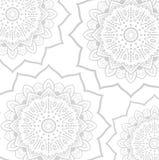 Abstrakte Mandala Background Lizenzfreie Stockfotos