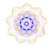 Abstrakte Mandala-Blume Lizenzfreie Stockfotografie