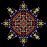 Abstrakte Mandala Dekorative Elemente der Weinlese Orientalisches Muster, Lizenzfreie Abbildung