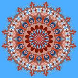 Abstrakte Mandala Dekorative Elemente der Weinlese Orientalisches Muster, Stock Abbildung