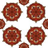 Abstrakte Mandala Pattern Design Lizenzfreie Stockfotografie
