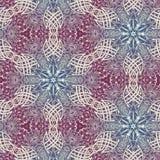 Abstrakte Mandalaentwurfsschablone vektor abbildung