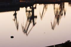 abstrakte Meerindustrie Lizenzfreie Stockfotos