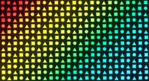 Abstrakte Mehrfachverbindungsstelle wendet Hintergrund ein Stockfotografie