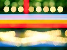 Abstrakte mehrfarbige bokeh Fotographie Lizenzfreies Stockfoto