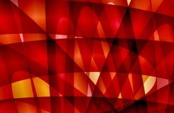 Abstrakte mehrfarbige Hintergrundtapete, illustation schattiert stock abbildung