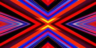 Abstrakte mehrfarbige Linien Hintergrund der Kunst Lizenzfreies Stockbild