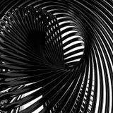Abstrakte metallische Drähte Stockbilder