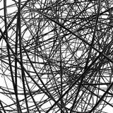 Abstrakte metallische Drähte Lizenzfreie Stockfotos