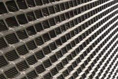 Abstrakte metallische Struktur Stockfotografie