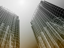 Abstrakte moderne Architektur Lizenzfreie Stockfotografie