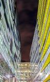 Abstrakte moderne Architektur Stockbild
