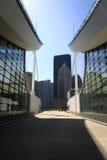Abstrakte moderne Architektur Lizenzfreie Stockfotos