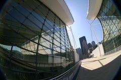 Abstrakte moderne Architektur Stockbilder