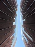 Abstrakte moderne Wände Stockbild