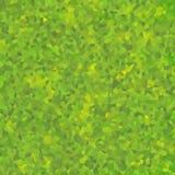 Abstrakte Mosaikmustertapete dunkelgrün Lizenzfreie Stockfotos