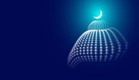Abstrakte Moschee Lizenzfreies Stockbild