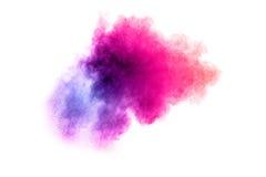 Abstrakte multi farbige Pulverexplosion Lizenzfreies Stockfoto