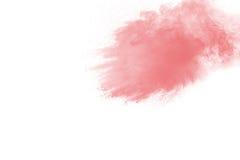 Abstrakte multi farbige Pulverexplosion Stockfotos