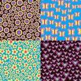 Abstrakte Muster Vektor Abbildung