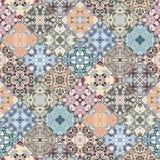 Abstrakte Muster im Mosaiksatz Lizenzfreie Stockfotos