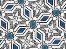 Abstrakte Musterspirale formt Illustration lizenzfreie stockfotos