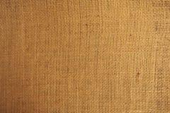 Abstrakte Nahaufnahme der alten Wand-Beschaffenheit des groben Sackzeugs Lizenzfreie Stockfotografie