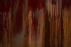 Abstrakte Nahaufnahme von Rusty Iron Texture Stockbild