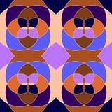 Abstrakte nahtlose geometrische Muster Lizenzfreies Stockbild
