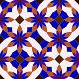 Abstrakte nahtlose geometrische Muster Stockbild