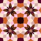 Abstrakte nahtlose geometrische Muster Stockfoto