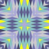 Abstrakte nahtlose geometrische Muster Stockfotos