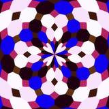 Abstrakte nahtlose geometrische Muster Kaleidoskop nahtlos lizenzfreie stockbilder
