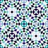 Abstrakte nahtlose geometrische Muster Kaleidoskop nahtlos Geometrisches Muster lizenzfreie abbildung