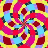 Abstrakte nahtlose geometrische Muster Kaleidoskop nahtlos Geometrisches Muster lizenzfreies stockbild