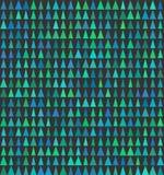 Abstrakte nahtlose Hintergrunddesignbeschaffenheit mit Dreieck spryce Elementen Stockfotografie