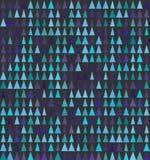 Abstrakte nahtlose Hintergrunddesignbeschaffenheit mit Dreieck spryce Elementen Lizenzfreie Stockbilder