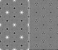 Abstrakte nahtlose Muster Stockbilder