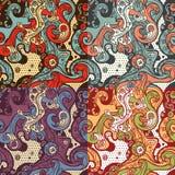Abstrakte nahtlose Muster Lizenzfreie Stockbilder