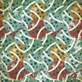Abstrakte nahtlose Musterbälle der unterschiedlichen Farbe Stockbild