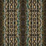 Abstrakte nahtlose Musterillustration der gemarmorten Streifenbeschaffenheit stock abbildung