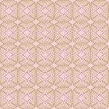 Abstrakte nahtlose Musterillustration von köstlichen Spitzen- Formen, von Streifen und von Punkten im geometrischen Grenzplan vektor abbildung