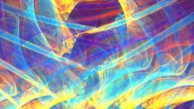 Abstrakte Neonflamme Abstrakter Hintergrund stock video footage