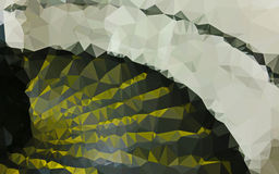 Abstrakte niedrige Polygonfarbtapete lizenzfreies stockfoto